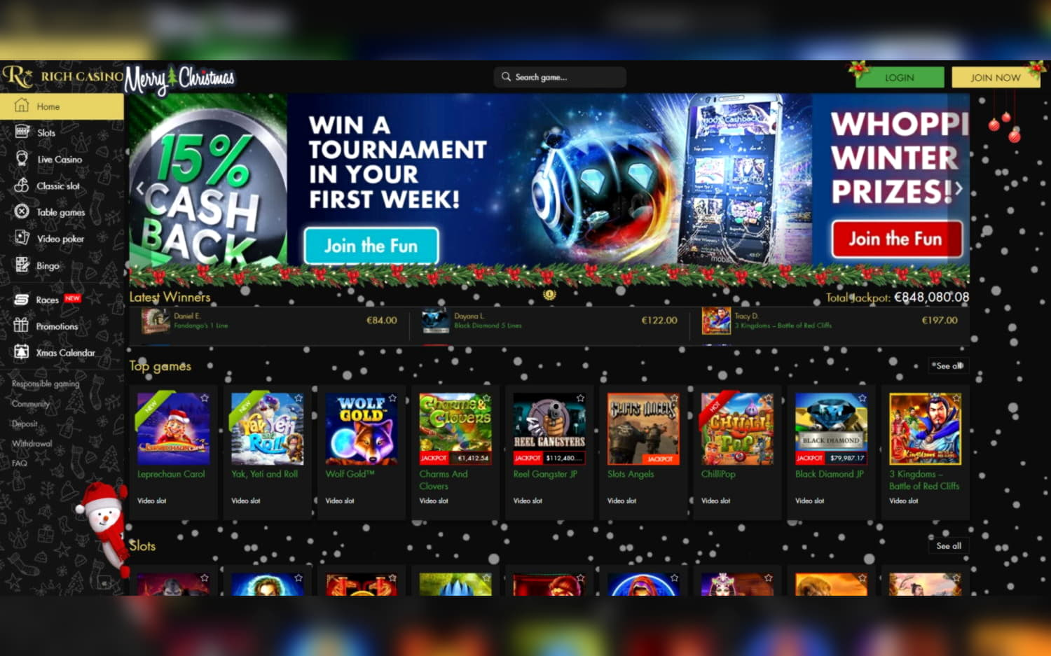 $155 free chip at Cheeky Riches Casino